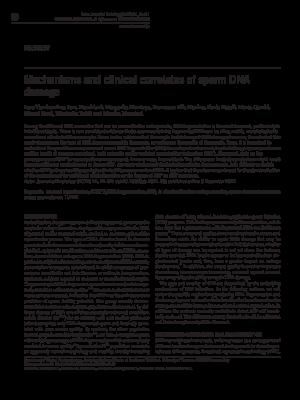 Mηχανισμοί της Κατάτμησης τους DNA, 2012