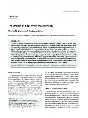 Το-αυξημένο-βάρος-στον-άνδρα-επηρεάζει-την-γονιμότητα-του-(Chambers-and-Anderson,–2015)
